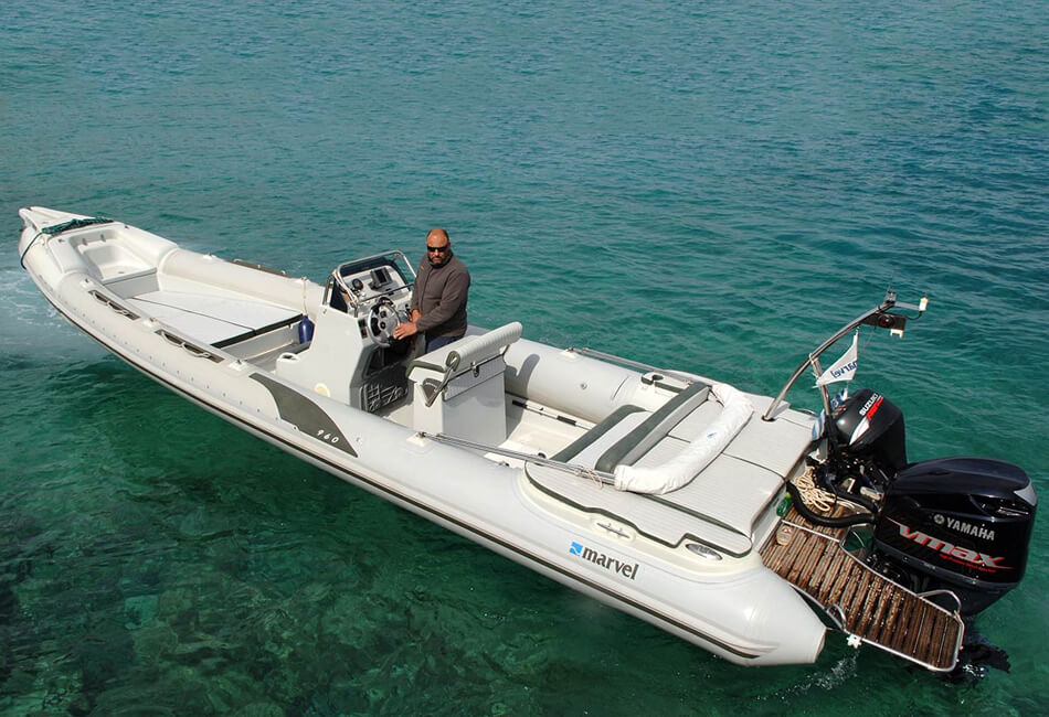31.2 ft Marvel Inflatable Boat