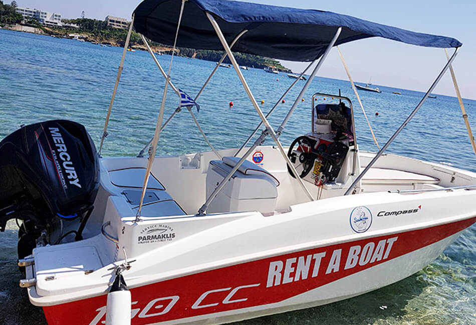 14.9 ft Compass 150cc Sundeck Powerboat